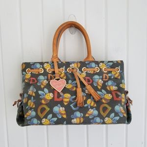 Vintage Dooney & Bourke Bumble Bee Bag
